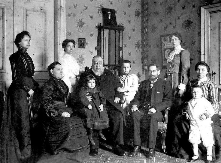 President Kruger and his Family in 'Oranjelust', Utrecht, Netherlands | Flickr - Photo Sharing!