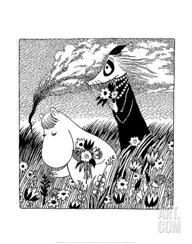 moomin art print - Google Search