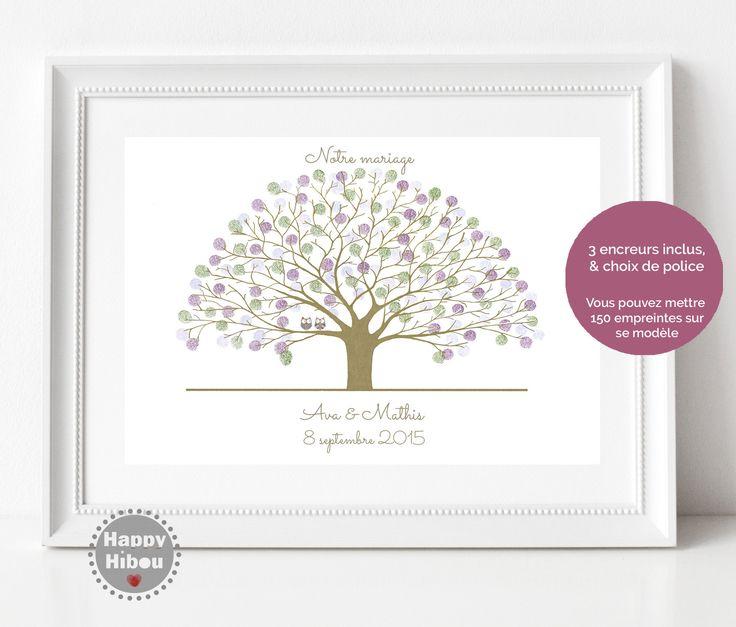 les 25 meilleures id es concernant mariage de l 39 empreinte de l 39 arbre sur pinterest arbre des. Black Bedroom Furniture Sets. Home Design Ideas