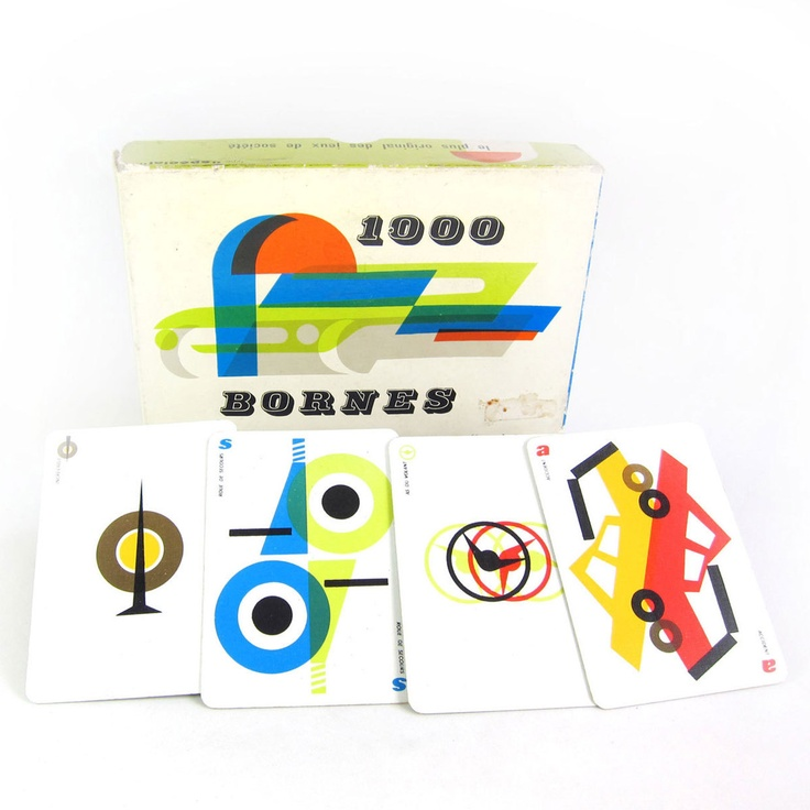 46 best vintage mille bornes images on pinterest card for Dujardin 1000 bornes