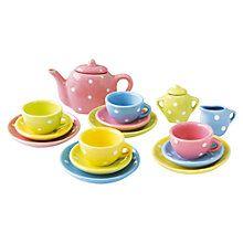Buy John Lewis 17 Piece Toy Tea Set Online at johnlewis.com