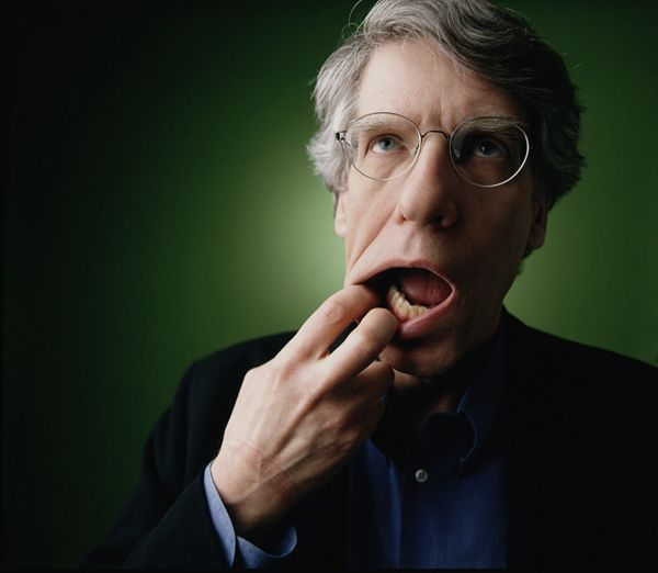 David Cronenberg, 1999 © Richard Ansett    ::   Beyond Likeness: Contemporary Works from the Portrait Gallery of Canada touring exhibition showing at Beaverbrook Art Gallery, Fredericton, NB. Canada.
