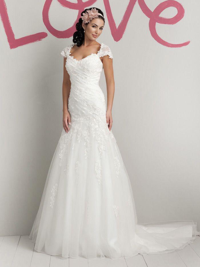tulle elegant spring sweetheart wedding dress