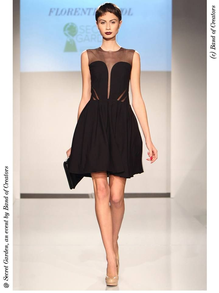 Must-have on a girls night out: the mini dress. Black Cinderella Dress by Florentina Giol available on www.bandofcreators.com.
