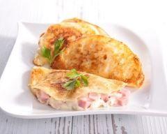 Crêpes jambon fromage à la béchamel de mon enfance (facile, rapide) - Une recette CuisineAZ