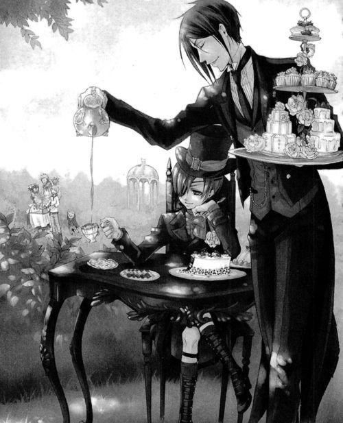 kuroshitsuji, black butler, and sebastian michaelis image