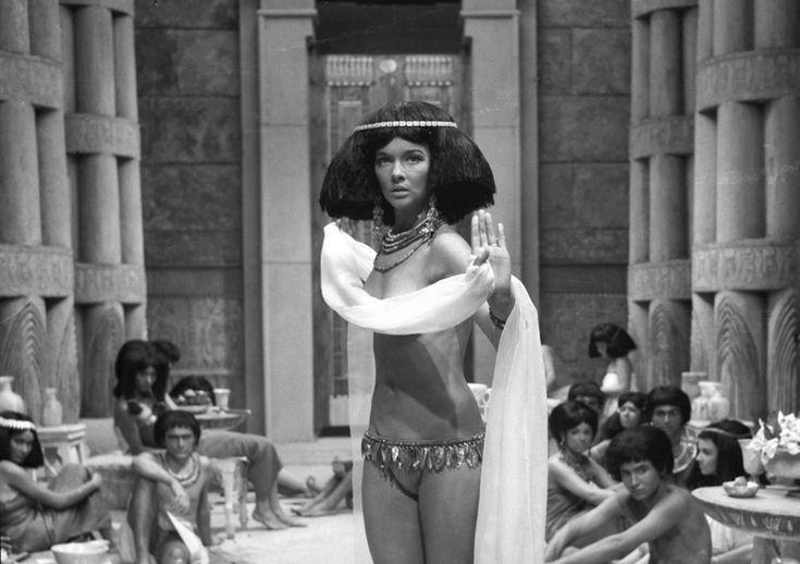 "Barbara Brylska as Kama in polish adaptation ""Faraon"" (1965)"