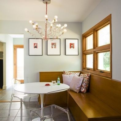 natural windows and doors, painted baseboards
