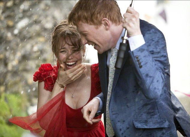 Rachel McAdams and Domhnall Gleeson in a scene from About Time by Richard Curtis - one of my favouite movies on love and giving attention to the present moment