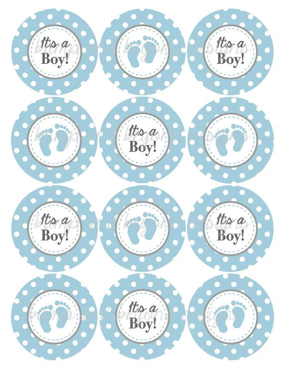 Baby Shower Cupcake Picks Decoration : 17 Best ideas about Baby Shower Cupcake Toppers on ...