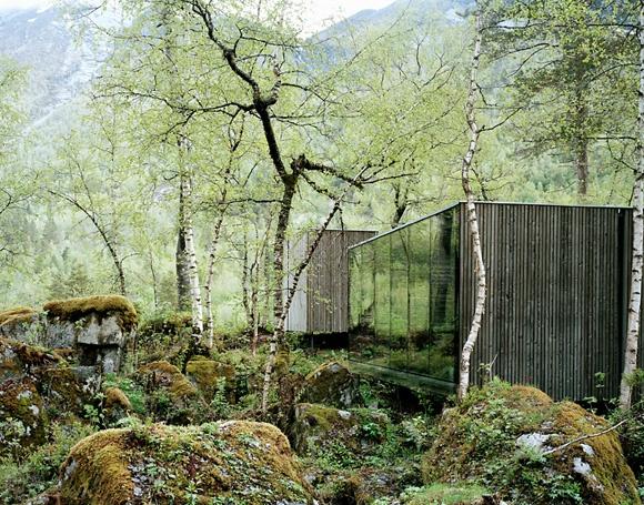 Juvet Hotel. Valldal, West Norway.