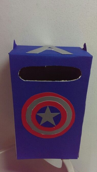 Captain America Valentine Box Projects Pinterest