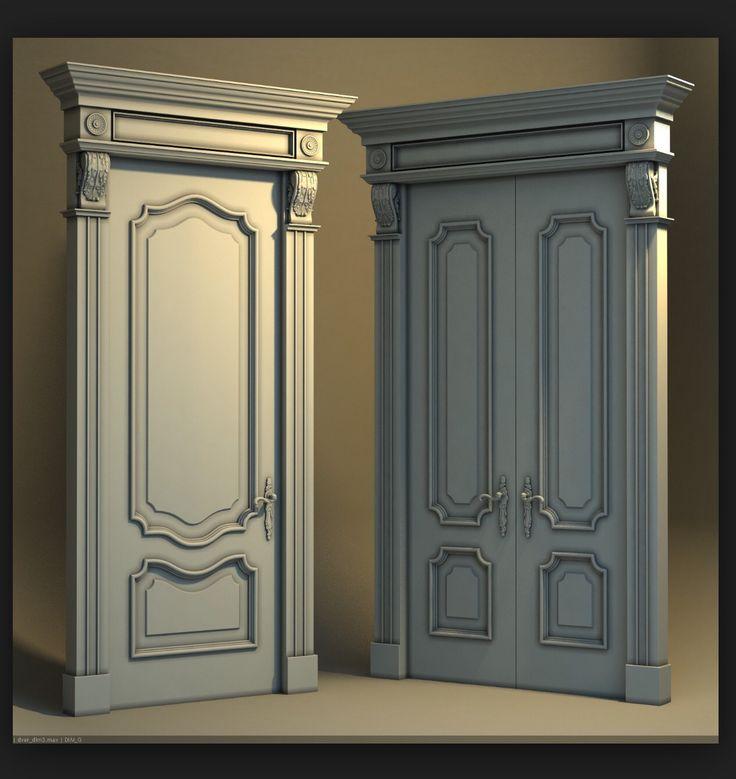 Baroque doors