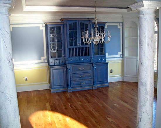 Built In Dining Room Hutch With Warming Drawersgreat For Keeping Rolls Nice And Warm Im Not Going To Lie That Cabinet Is An Icky Blue