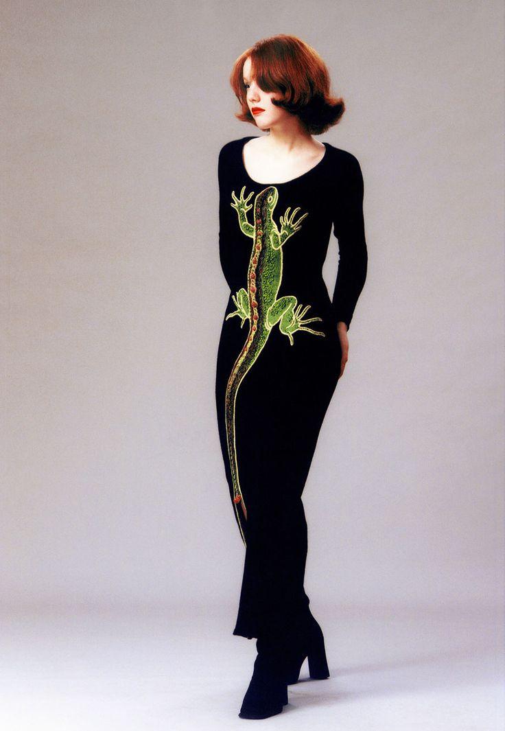 "Alexander Seraphim's knitwear,  ""Beloved Lizard"", 1997"