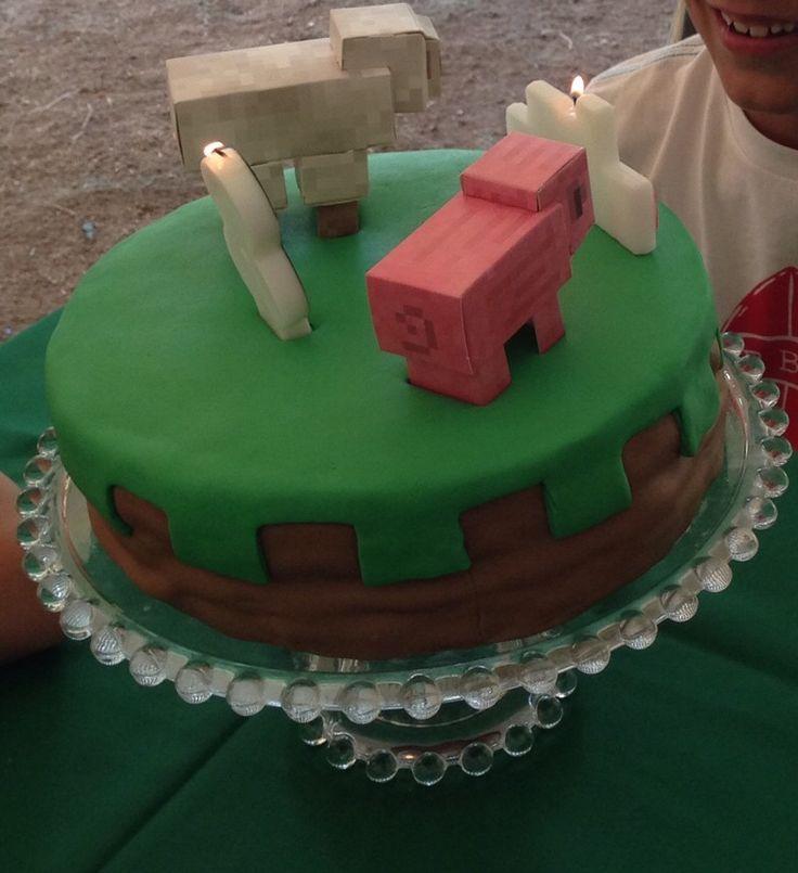 Mine Craft Cake!