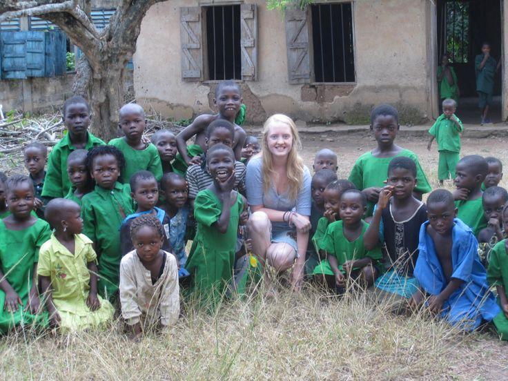2010 - EIL Volunteer, Brona in Nigeria. #50EILIRL