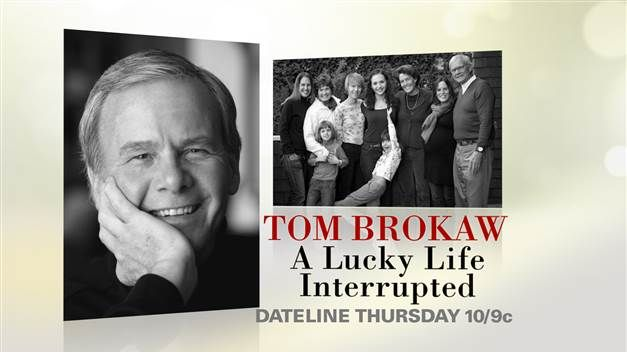 Tom Brokaw's daughter recalls the 'awful' way she learned about her dad's cancer diagnosis - TODAY.com