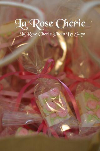 La Rose Cherie(ラ・ローズ・シェリー)-サプライズのお土産 薔薇の角砂糖