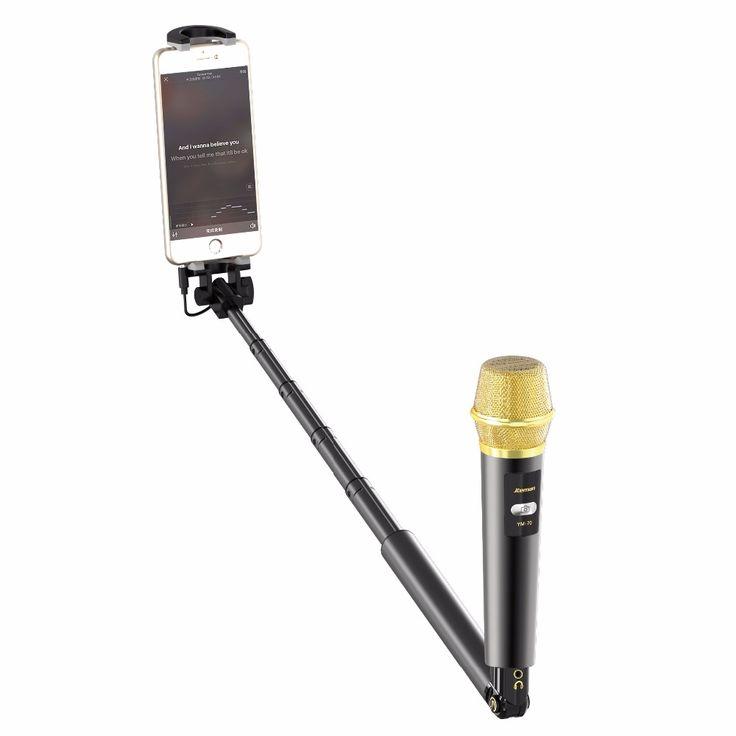selfie stick microphone condenser microphone karaoke microfone sem fio microfono mic profissional microfoon microfon microphones