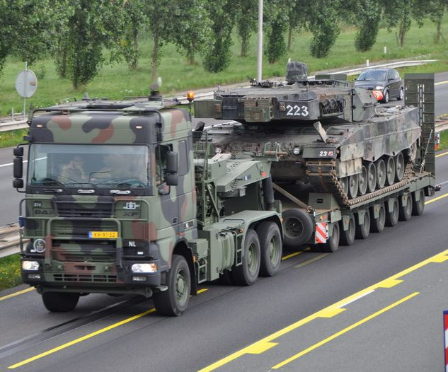 DAF TROPCO - Dutch Army