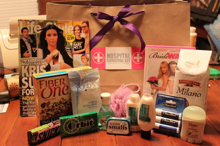 Cute Sayings For Hospital Survival Kits | just b.CAUSE