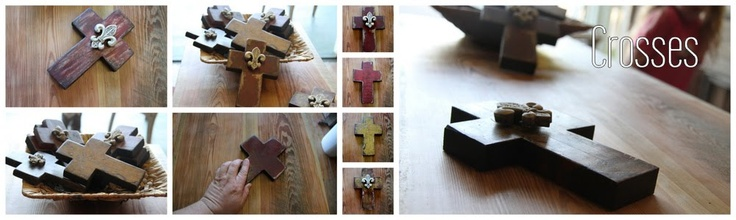 Crosses made from Barnwood and Reclaimed Building Materials : Reclaimed By The Somerhalders