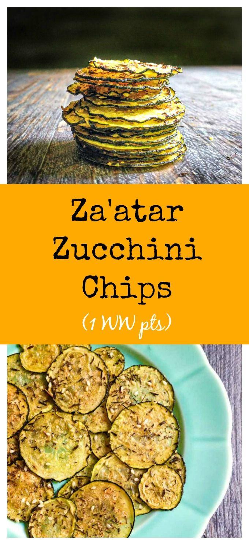 Za'atar Zucchini Chips