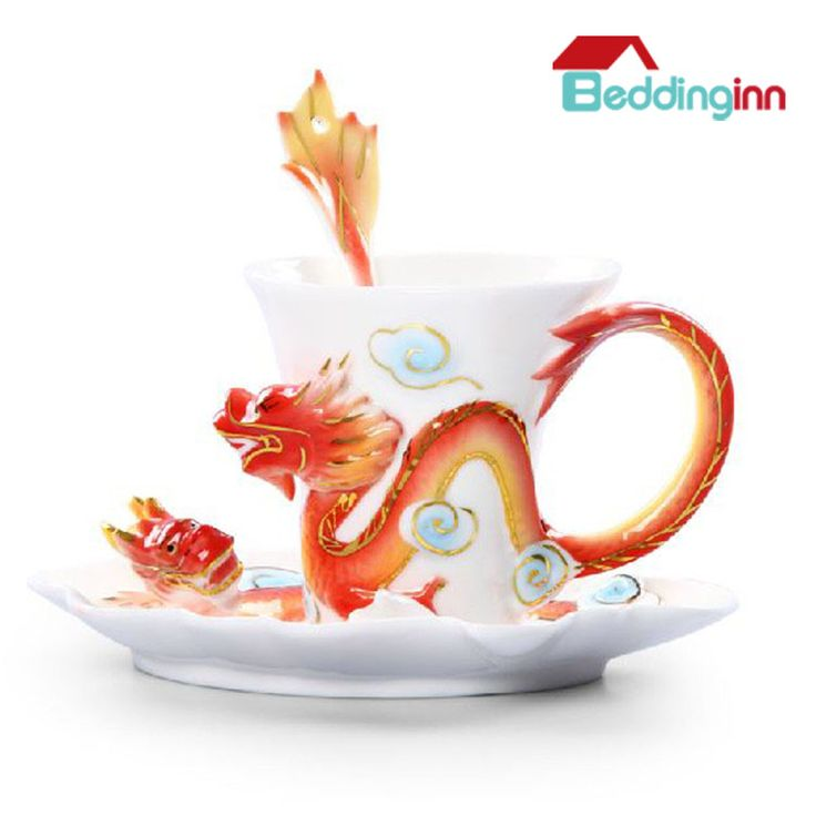 Creative Dragon Ceramic Enamel Coffee Cup Sets Last sale for 2014: 6% off & coupon code: 2014END Buy it>>>http://urlend.com/AFzuuai Live a better life, start with Beddinginn http://www.beddinginn.com/product/Fancy-Creative-Dragon-Ceramic-Enamel-Coffee-Cup-Sets-10968279.html