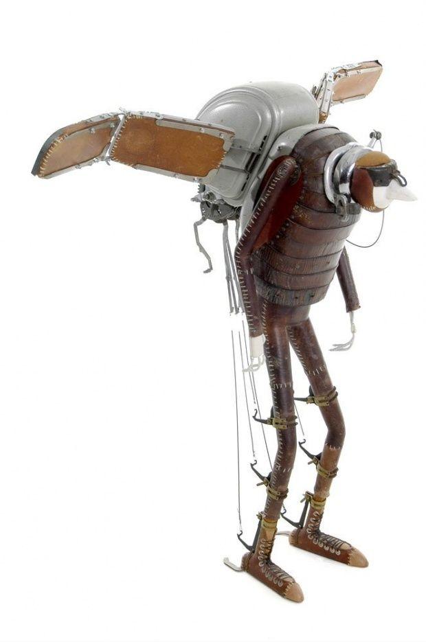 Les étranges personnages de Stephane Halleux stephane halleux sculpture personnage 18