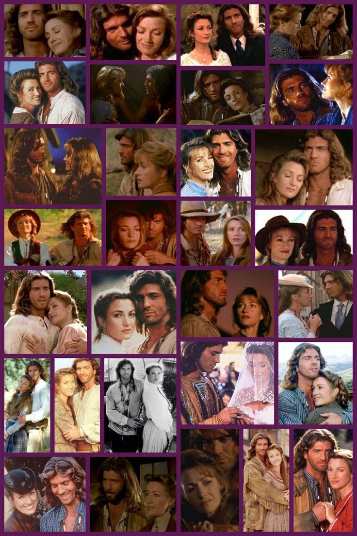 "Collage - Joe Lando and Jane Seymour in ""Dr. Quinn, Medicine Woman"" (1993)"
