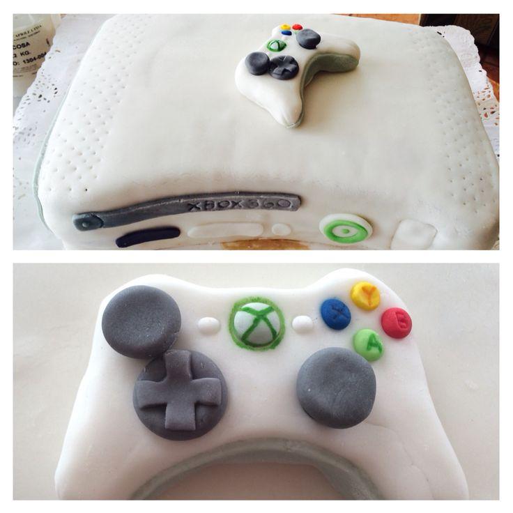 Xbox 360 cake Torta xbox 360 Crema oreo-manjar