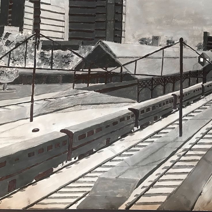 Welcome to our newest creator added to the shop, Daniel Givler!  He's a high school student &  hoping to make some money towards his college education.  His first listing is a reproduction of his charcoal drawing of the Harrisburg Pa train station. Enjoy!