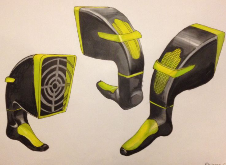 Rendering of Twister Hairdryer Design. Group project for Design Practice 2 module.