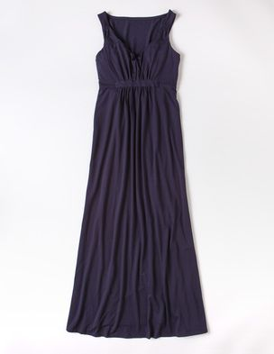 Jersey Maxi Dress with a sparkly belt!?