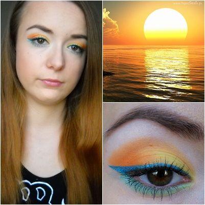 Sunny makeup