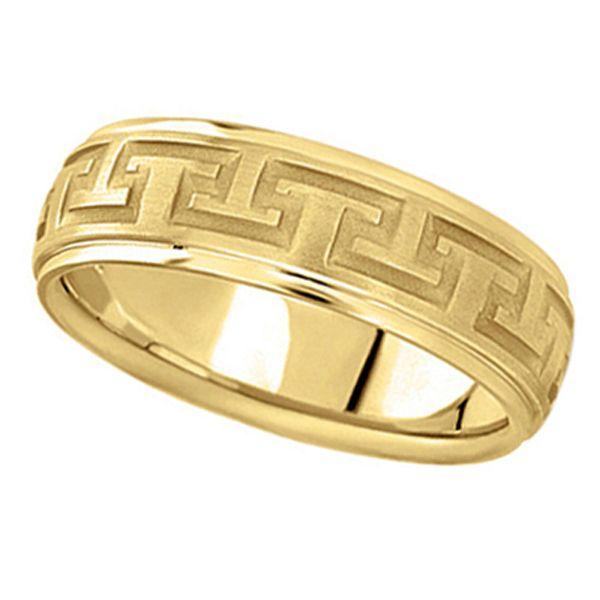 Men s wedding bands size 15
