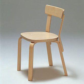 Chair 69 Alvar Aalto