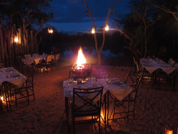 Boma dinners @ Camp Jabulani
