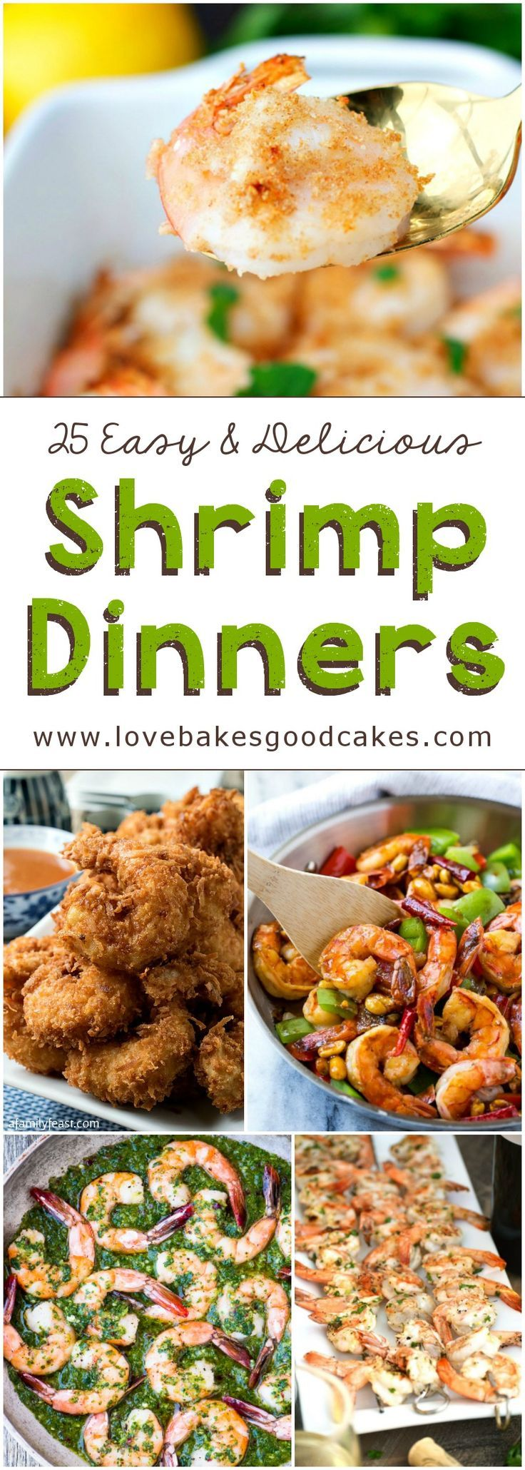 25 Easy and Delicious Shrimp Dinners