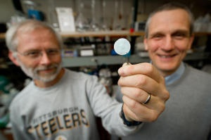 "Invention Reduces Pharmaceutical Costs:""The membrane devices that we've manufactured can simplify protein purification by rapidly capturing the desired protein as it flows through membrane pores,"" said Bruening, who has patented the process and is working to scale up his invention. ""Our membranes have two to three times more capacity than existing commercial devices, and they should reduce the purification process time substantially. Typically, our procedures are complete in 30 minutes or…"