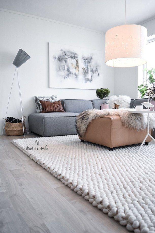 Inspiring Image Cozy Livingroom Nordic Sofa Style By
