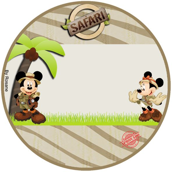 Mickey Safari Theme Party