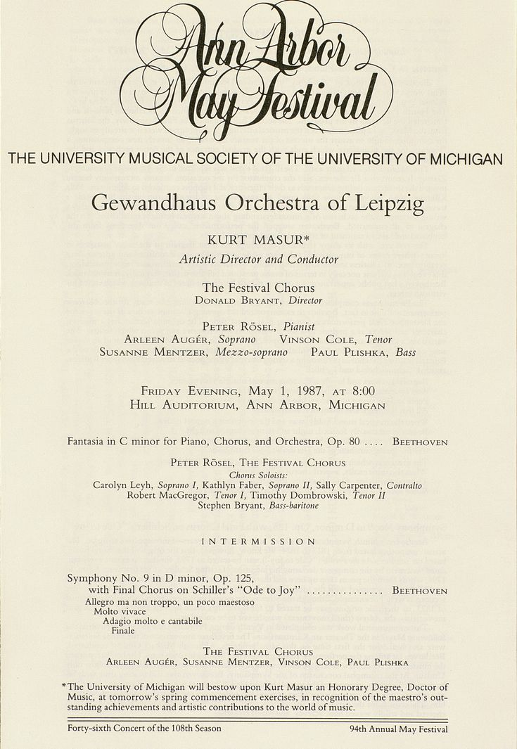 Best Concert Program Images On   Concert Orchestra