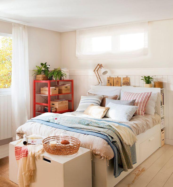 Las 25 mejores ideas sobre habitaciones chulas en for Cama brimnes