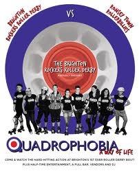 Quadrophobia, Brighton Rockers Roller Derby vs Romsey Town Rollerbillies, 6 August 2011, Brighton, England