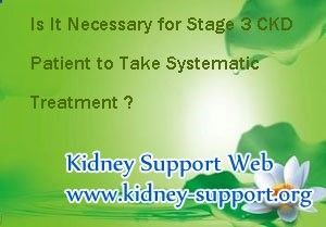 Is it necessity for them to find holistic remedies to Stage 3 Chronic Kidney Failure ? Chronic Kidney Failure is a gradual loss of renal functions.Compared with Chronic Kidney Disease, it more serious. In Stage 3 Chronic Kidney Failure, patients suffer from symptoms like frequently urination, anemia etc. Meanwhile Stage 3 Chronic Kidney Failure is the best time to control the progression of Chronic Kidney Failure. Systematic treatment is necessary for Stage 3 Chronic Kidney Failure pat...