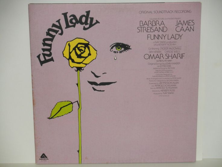 Funny Lady - Original Soundtrack Recording - Barbra Streisand - James Caan - Arista Records 1975 - Vintage Gatefold Vinyl LP Record Album