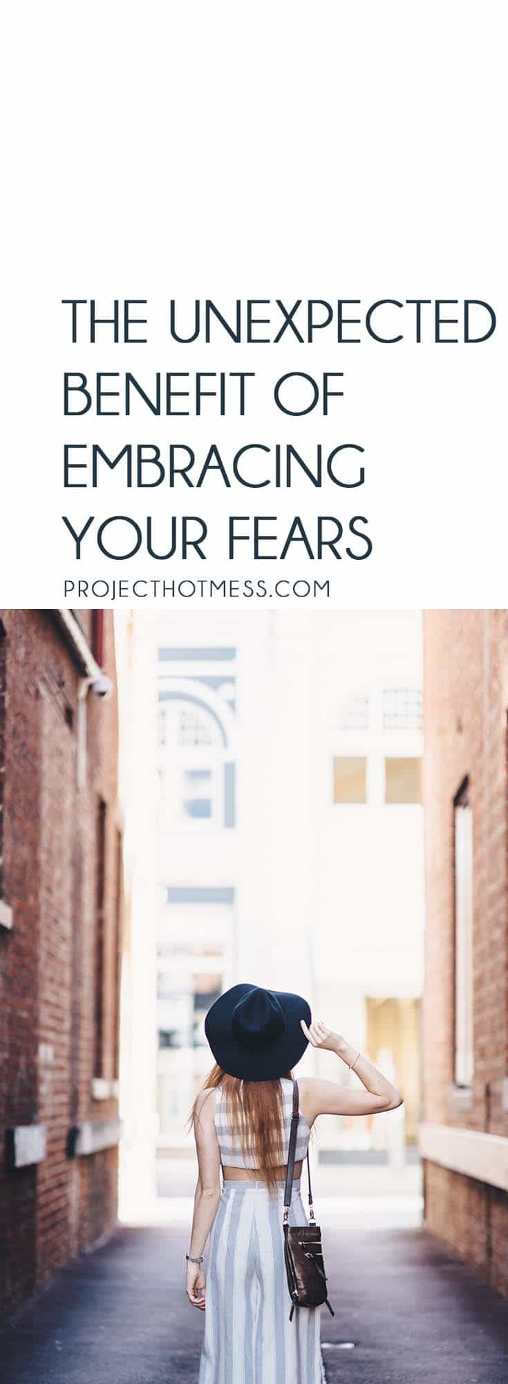 There's no denying we all have things we are scared of and fear. But embracing your fears and using them to your advantage can sometimes be the best option. via @project_hotmess