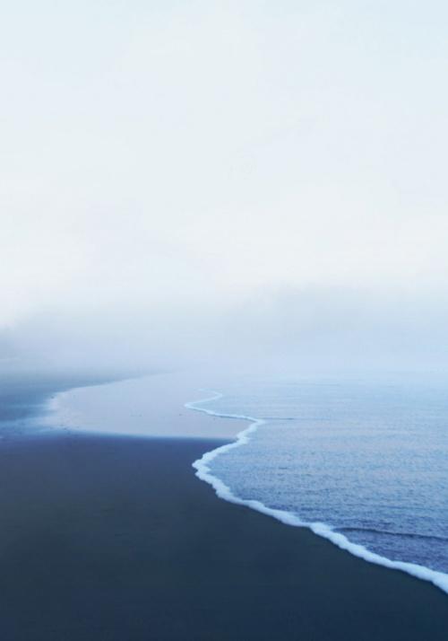 La vue depuis ma maison au bord de la mer